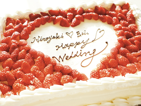 定番ウェディングケーキ